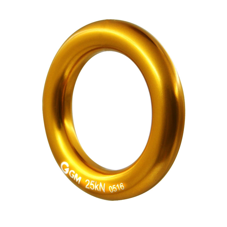 MM cuerda de escalada Rappel Anillo Conector Pack de 2/para Golden Retriever fricci/ón Set