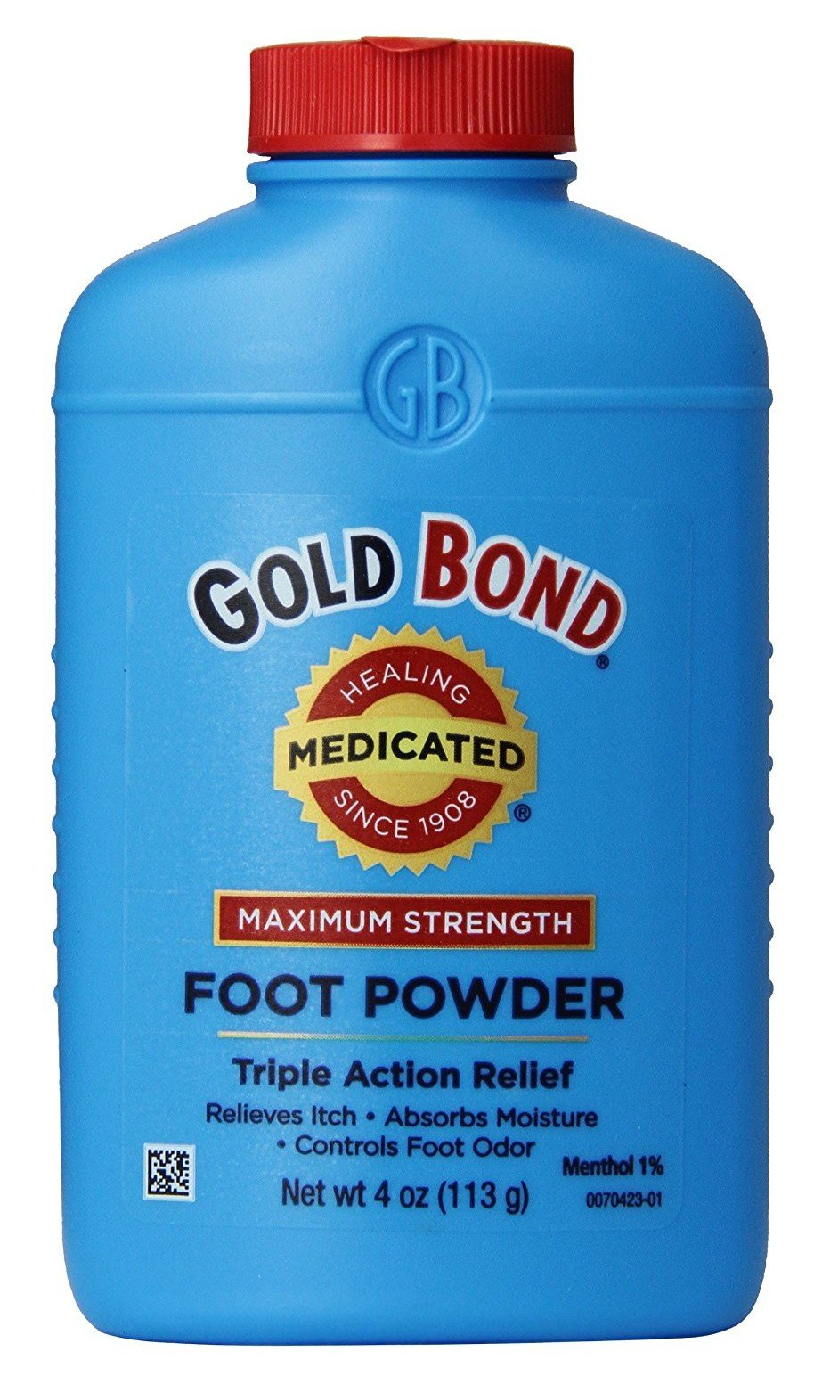 Gold Bond Foot Powder Medicated 4oz (3 Pack)