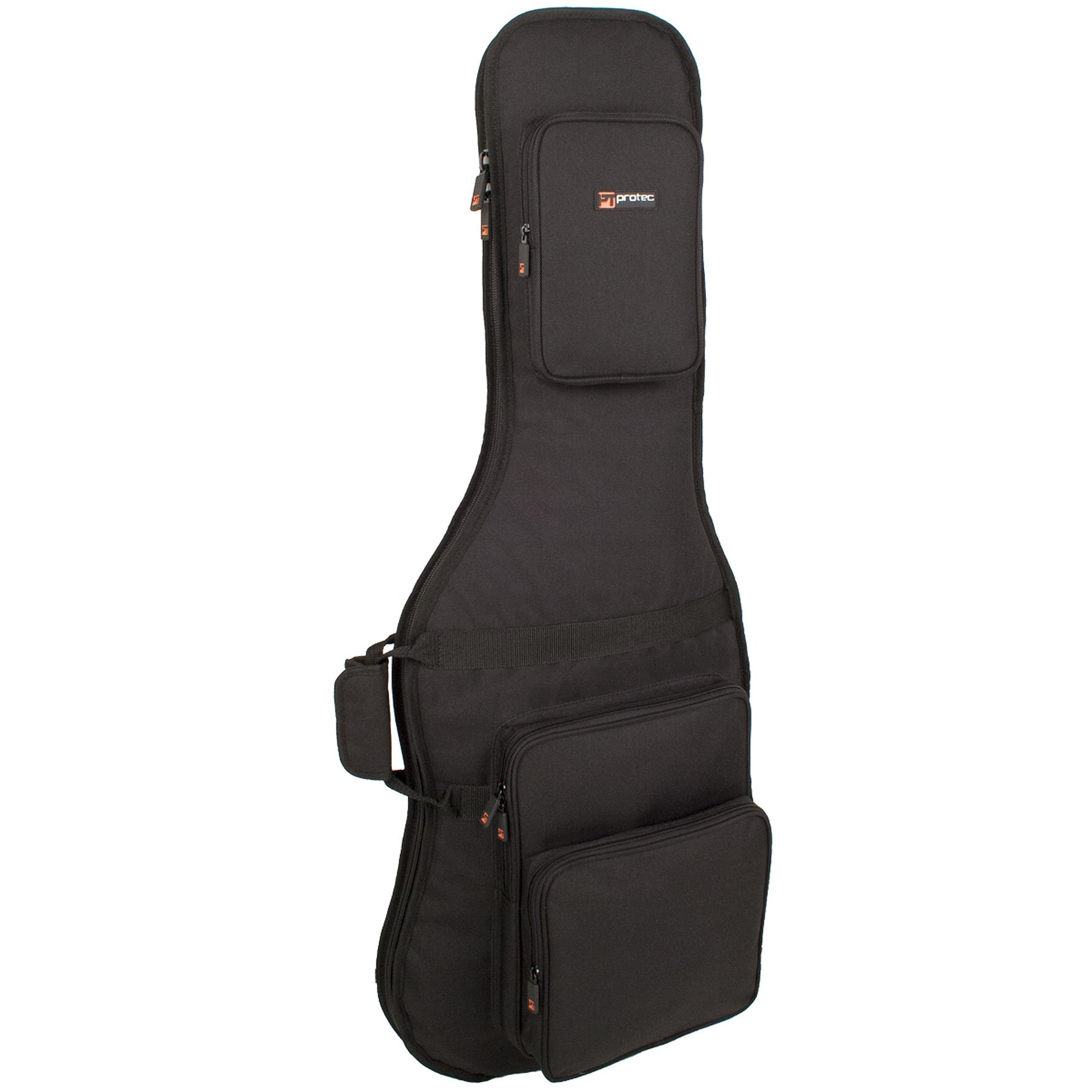 Protec CF234 Electric Guitar Gig Bag, Gold Series (Fits Strat/Tele Shaped Guitars)