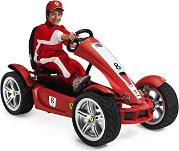 Berg Ferrari Fxx Exclusive Bf 7 Pedal Go Kart Amazon De Spielzeug