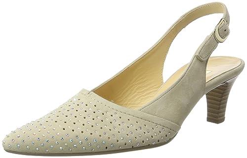 TG.36 Gabor Shoes Fashion Scarpe Col Tacco con Cinturino a T Donna