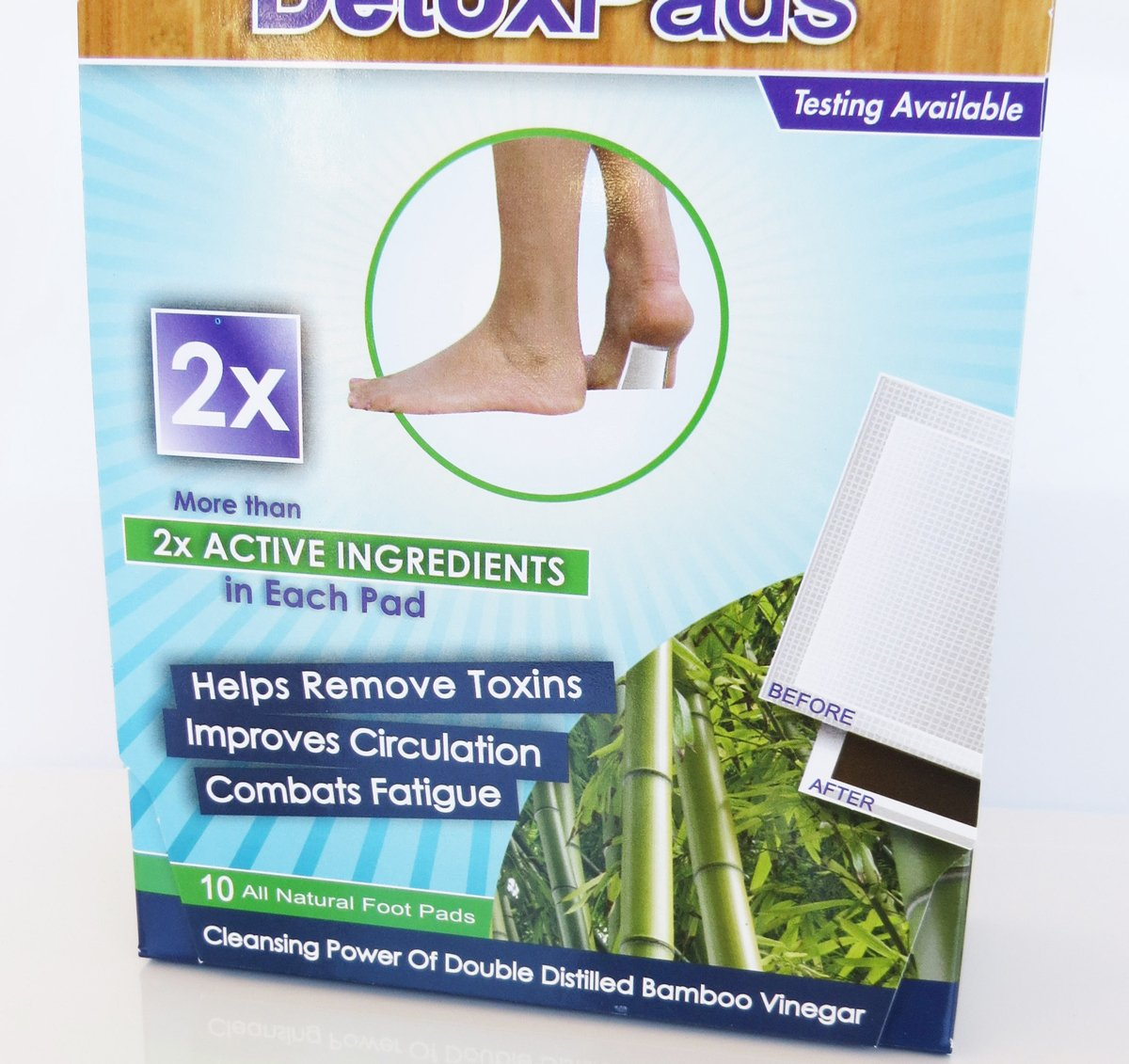 BodyPure2x Herbal Foot Pads to Remove Toxins