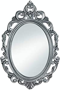 Accent Plus Silver Royal Crown Wall Mirror 15.5x0.5x23.5""