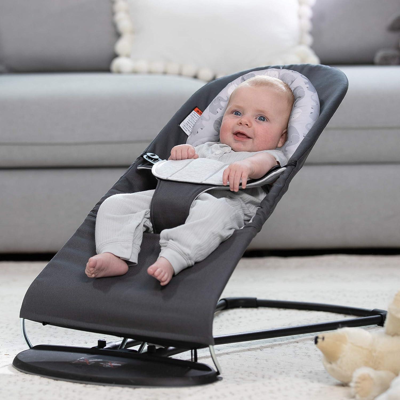 Boppy Noggin Nest Head Support for Infants Gray Camo