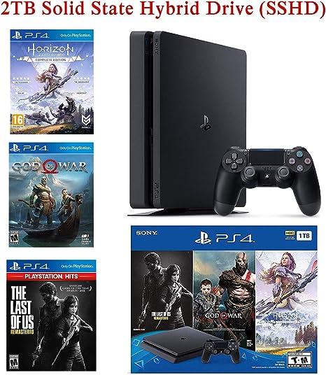 NexiGo 2019 Playstation 4 PS4 Consola Holiday Bundle Actualizado ...