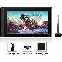 HUION Kamvas Pro 16 15,6-calowy tablet graficzny do rysowania z ekranem z 6 konfigurowalnymi klawiszami skrótów 1 pasek…