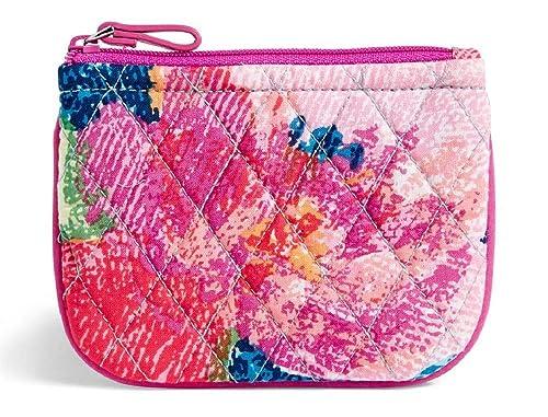 Amazon.com: Vera Bradley - Monedero de algodón con diseño de ...