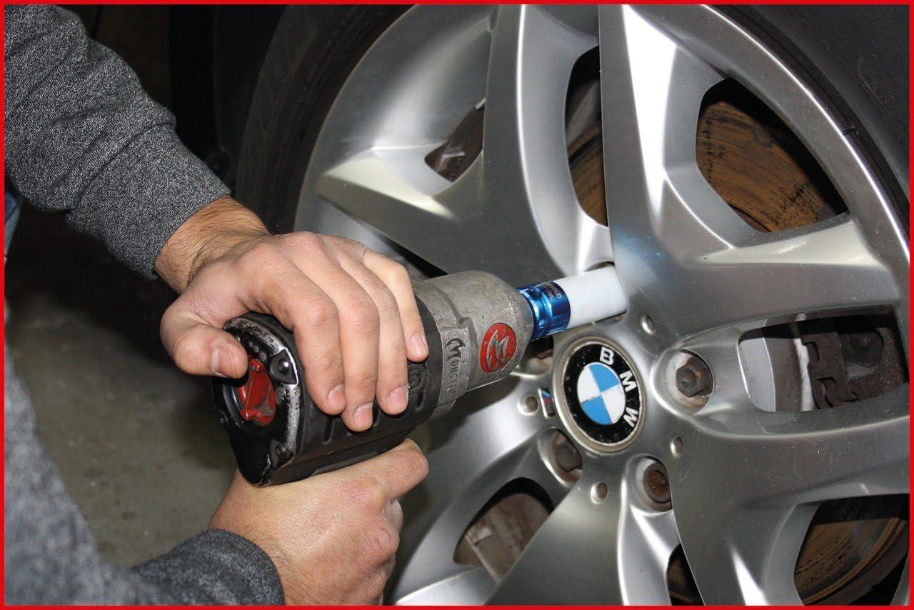 19mm 1//2 Aluminium wheel impact socket deep