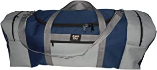 product image for Extra Large Triple Travel Bag Holds All Your Gears Made in USA. (Navy/Silver)