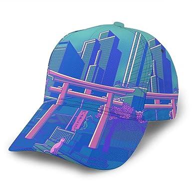 Neon Moon Gorra de béisbol Ajustable para Mujer y Hombre, Gorra de ...