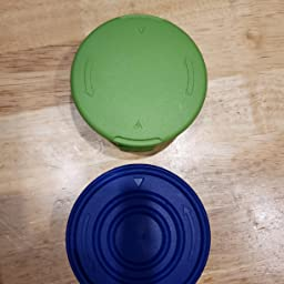 GreenWorks 3 Pack Of Genuine OEM Replacement Spool Covers # 34121186-2-3PK
