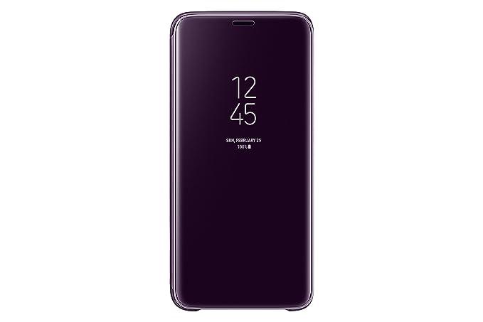 wholesale dealer 8156c 41ab0 Samsung Galaxy S9 Clear View Standing Cover, Purple (EF-ZG960CVEGCA)