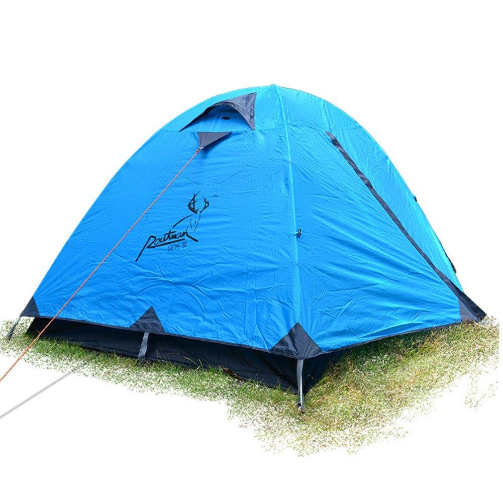 TY&WJ Campingzelt,Kuppelzelte Double Layer Regendichte Beach Tipi Für Outdoor-sportarten Klettern Wandern Zelte 2 Personen