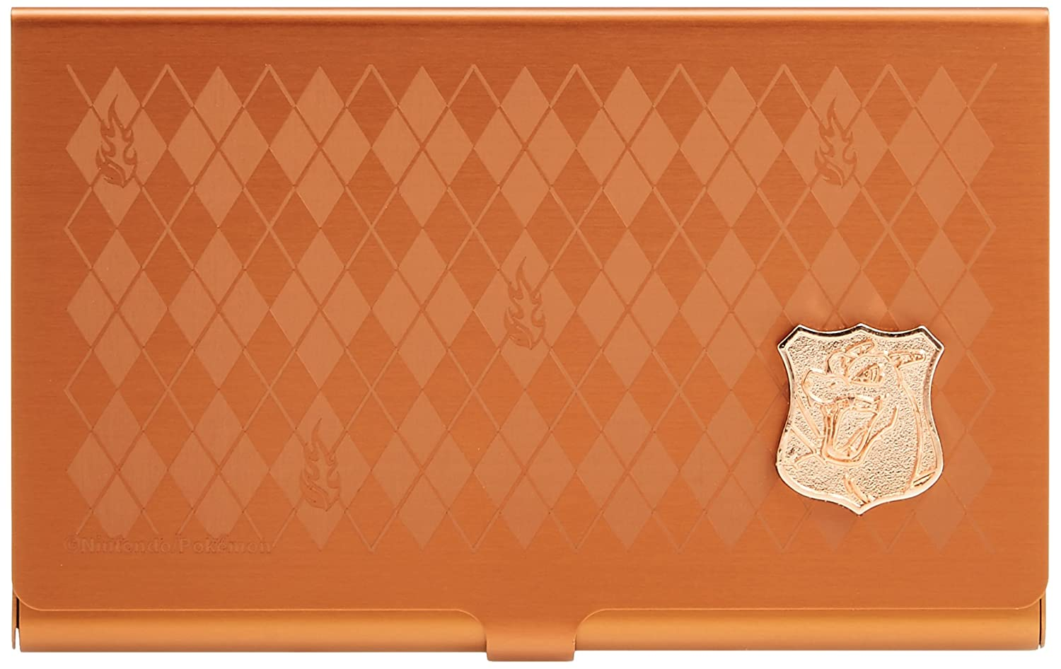 JP Pokemon Metal Card Case / Charizard