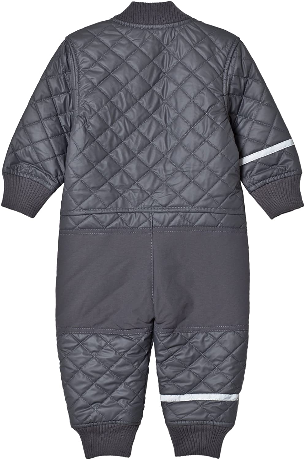 Boy Girl Unisex Fleece Lining Age 9-24 Months Thermal PU Quilted Windproof Suit