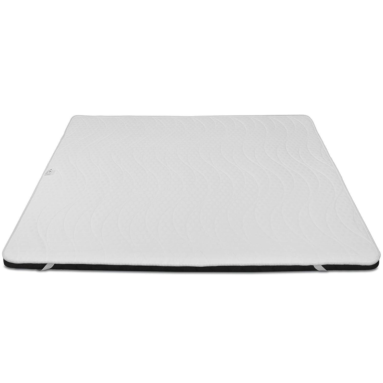 Baldiflex Correttore Materasso in Memory Foam Topper 70×190 cm H 7 cm con Rivestimento Ipoallergenico Traspirante Prezzi offerte