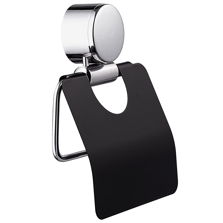 Eimer Klob/ürste tectake Exclusives 3 teiliges Badset Toilettenrollenhalter