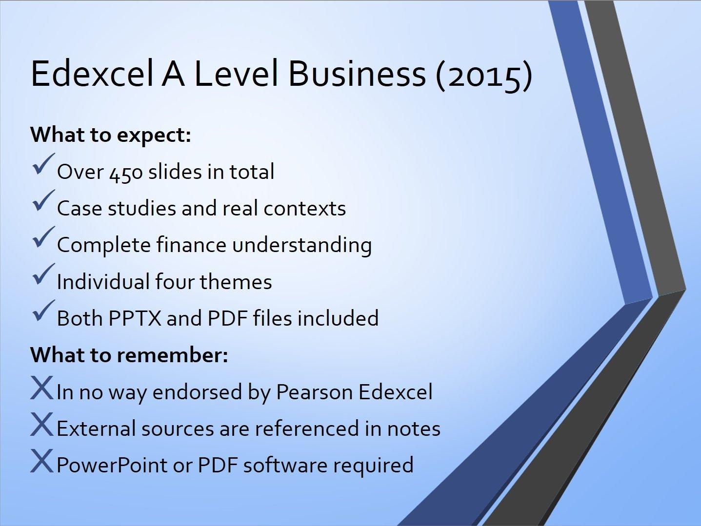 Top Five Edexcel A Level Business Studies Revision Notes Pdf