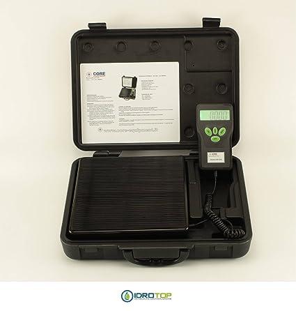 Báscula electrónica LCD carga máxima 100 kg para gas ...