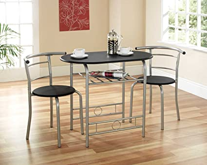timeless design 540e0 7e218 Home Discount Corona Dining Set 2 Seater, Solid Pine Wood, Rustic Wax  Finish, With 2 Chairs