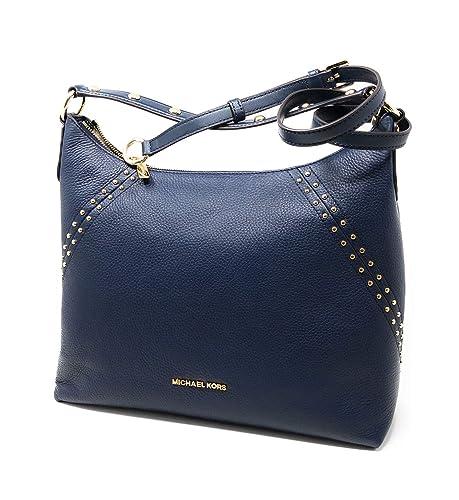 392cb3ec96f6 Michael Kors Women's Michael Kors Aria / 35T8GXAL8L Shoulder Bag Blue Blue  (Navy) One
