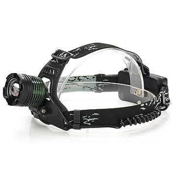NEU /& SOFORT STIRNLAMPE KOPFLAMPE MIT 8 LED