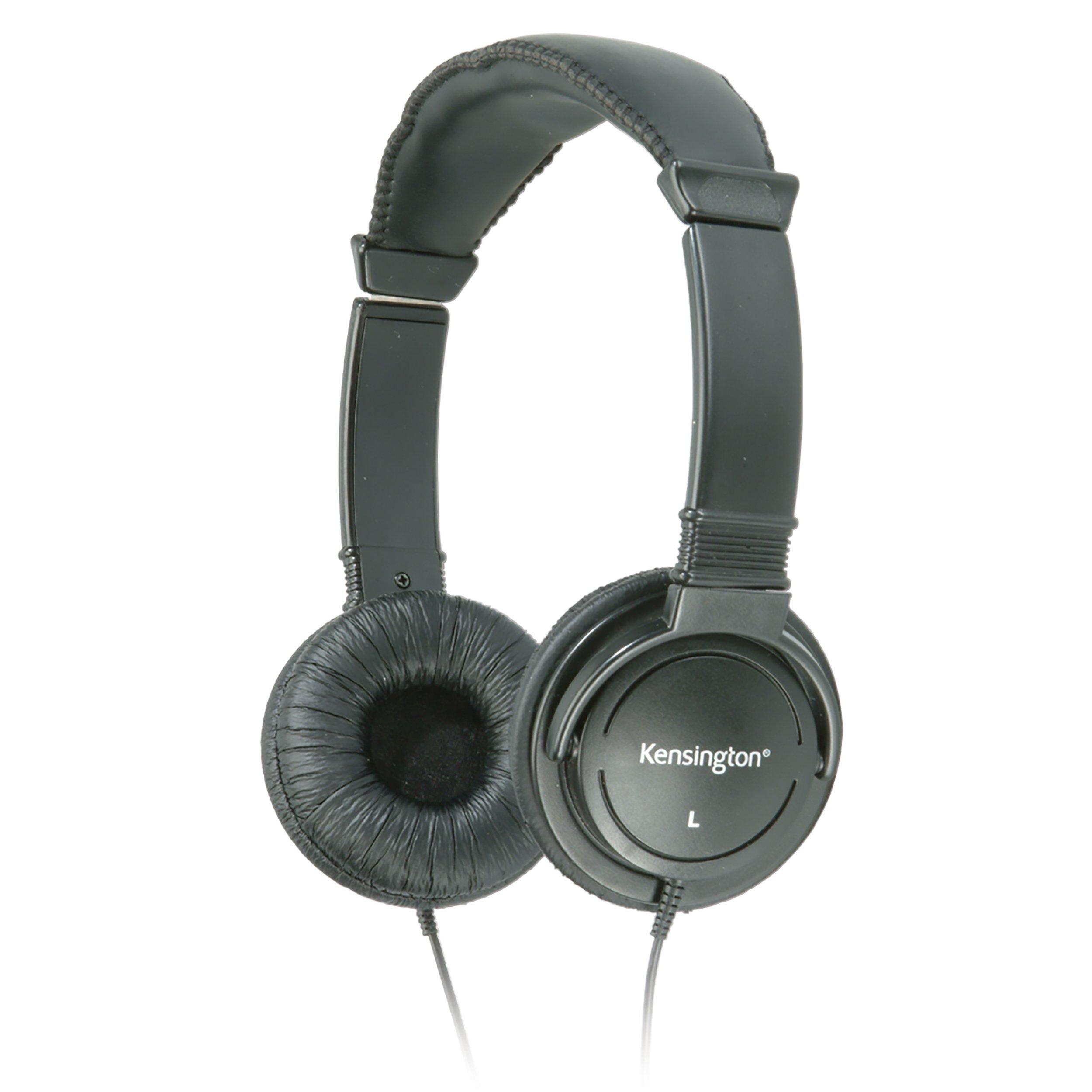 Kensington Hi-Fi On-Ear Headphones with 9-Foot Cord (K33137) by Kensington