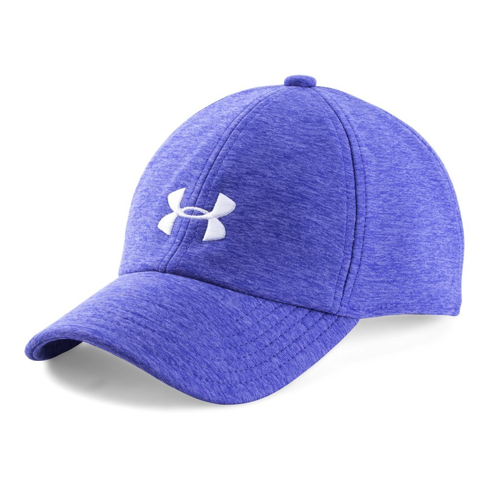 Under Armour Girls' Twisted Cap, Constellation Purple (530)/White, One Size