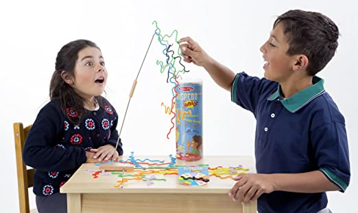 with Die Years For Ages 8 Melissa /& Doug 31 Piece Balance Suspend Family Game