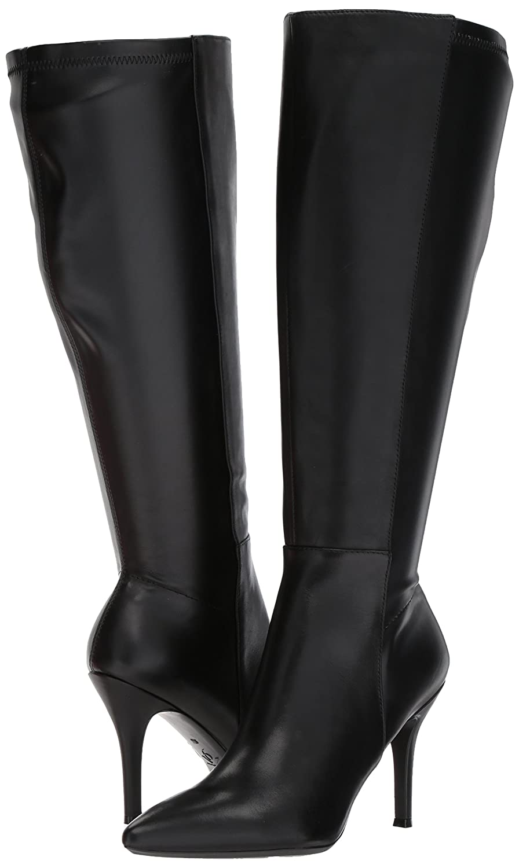 Nine West Women's FALLON9X9W Leather B071VJPK76 6 B(M) US|Black/Black Wide Leather