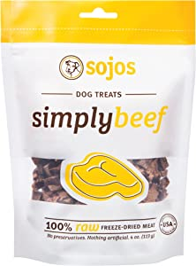 Sojos Natural Freeze-Dried Raw Meat Dog Treats
