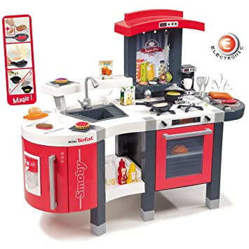 Tefal Kinderküche, Cuisine Super Chef, reale Funktionen Sound • Chef ...