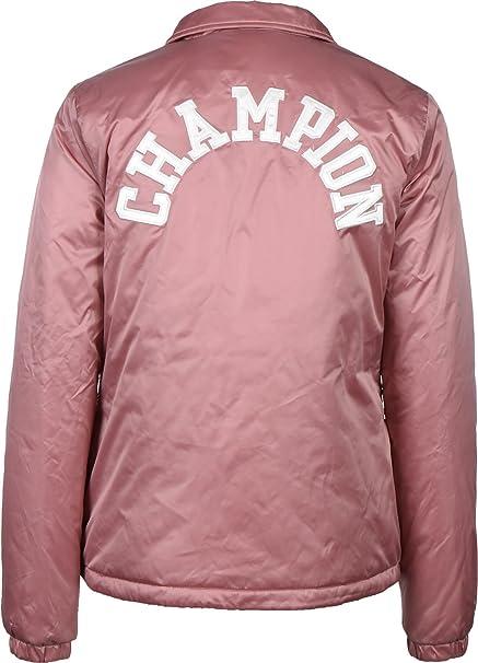 Champion - Chaqueta - para Hombre Rosa Rosa Medium