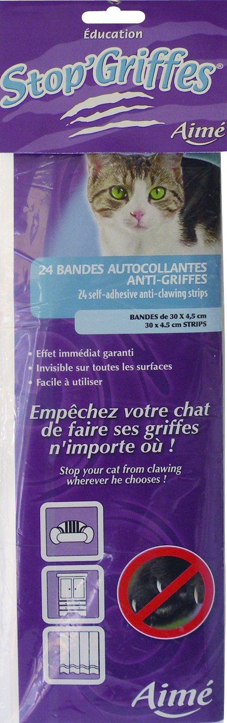 Aime Stop Griffes Bandes Adhesives Anti Griffes Pour Chat 24