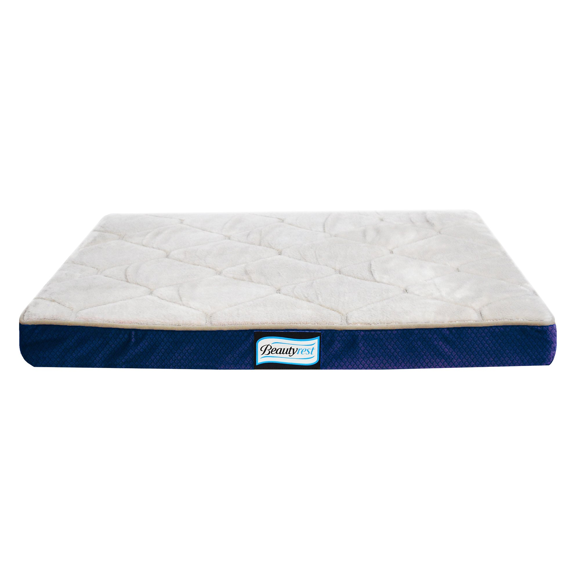Simmons Beautyrest Thera Bed Orthopedic Memory Foam Dog Bed and Kennel / Crat...
