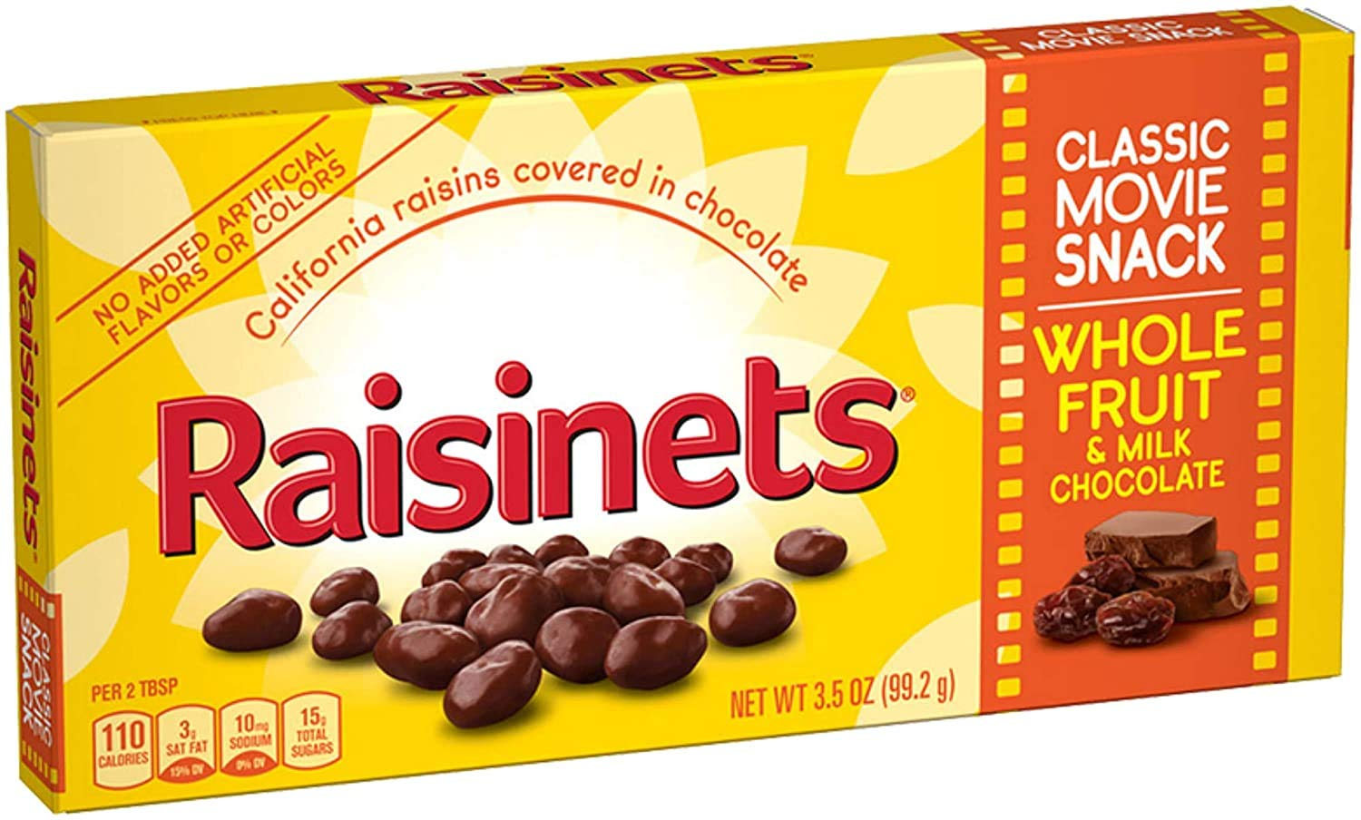 Nestle Raisinets (Pack of 4) 3.5 oz Theater Boxes