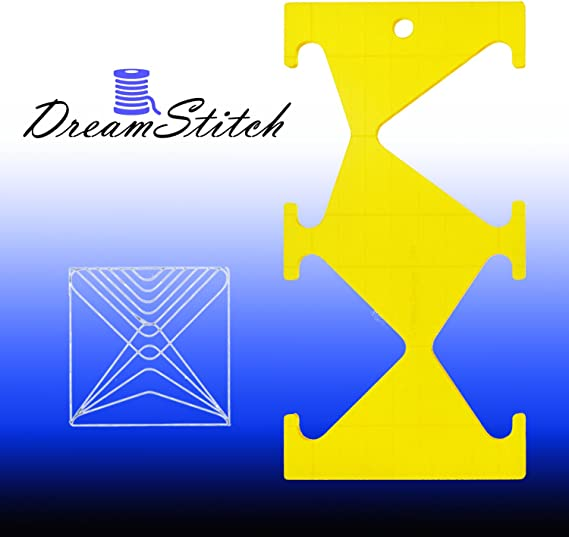 Diamond Shape Quilting Template QT-TR4  5mm for Longarm Quilting Machines