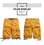 INFLATION Men's Beach Shorts for Mens Comfy Cargo