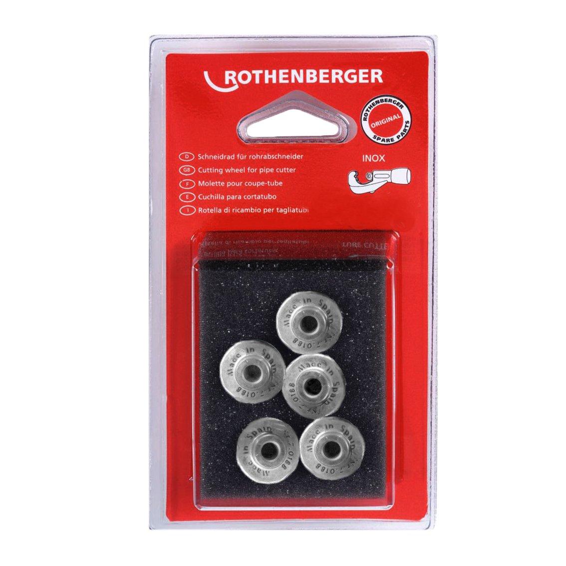 ROTHENBERGER 070188D 5 cuchillas 7350105 en display