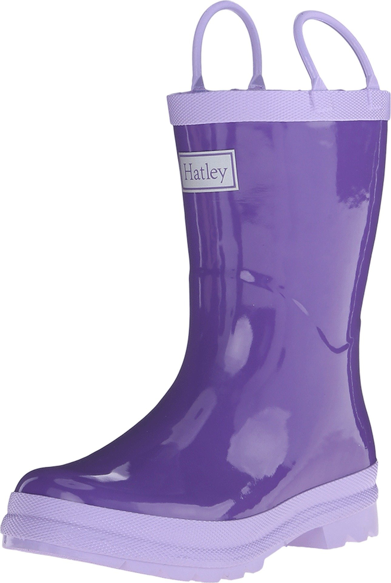 Hatley Kids Girl's Purple & Lilac Rainboots (Toddler/Little Kid) Purple/Lilac Boot 10 Toddler M