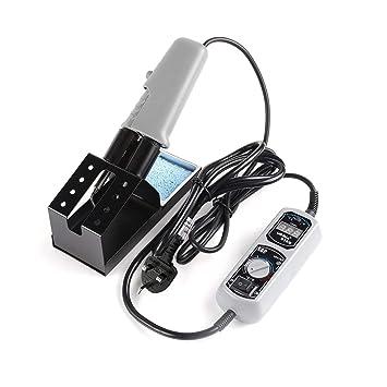 Mini Estación de Soldadura de Las Pinzas Calientes Portátiles 938D 220~230V para La Reparación de BGA SMD, Estándar UK: Amazon.es: Bricolaje y herramientas