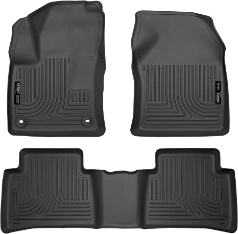 2004 2002 2001 2005 Toyota Echo Black with Red Edging Driver /& Passenger Floor 2003 GGBAILEY D2999A-F1A-BLK/_BR Custom Fit Car Mats for 2000