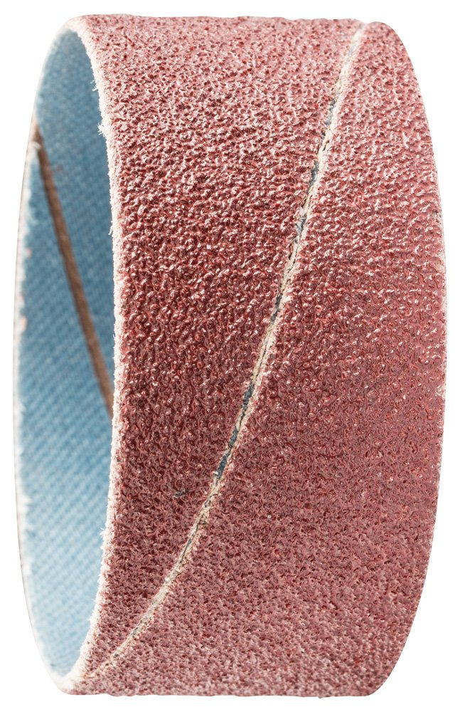 PFERD 41250 Cylindrical Type Abrasive Spiral Band, Aluminum Oxide A, 2'' Diameter x 1'' Length, 60 Grit (Pack of 100) by Pferd (Image #1)