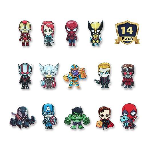 HXDZFX - Imanes de Nevera, diseño de Los Vengadores, Marvel Heroes ...