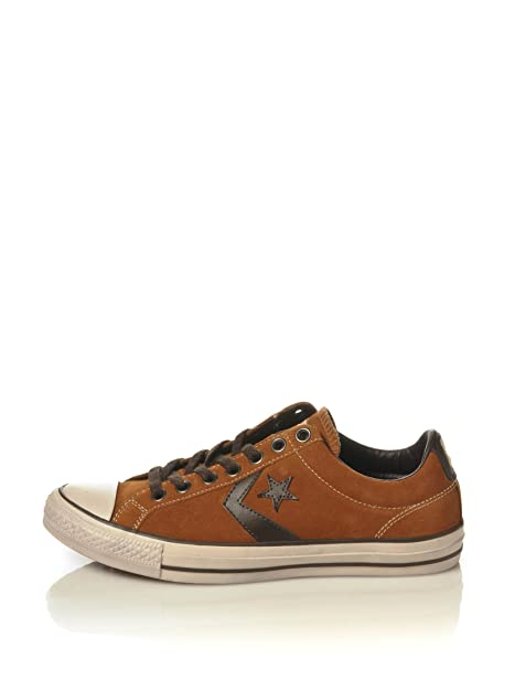 Converse Star Player Ox In Pelle EU Scamosciata Tg UK 7 EU Pelle 41 26 cm 7df99c