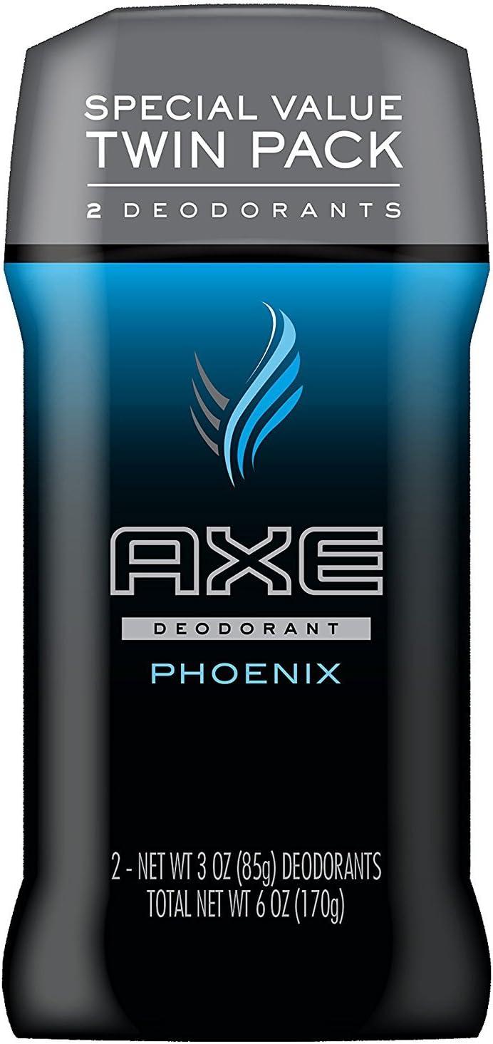 Axe Deodorant Stick, Phoenix, Twin Pack, 180 ml: Amazon.es: Belleza