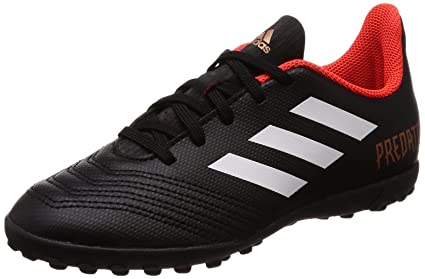 finest selection cca89 d9bfb adidas Predator Tango 18.4 Turf Football Boots - Youth - Black White Red -