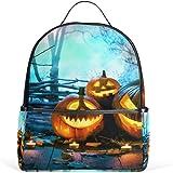 JSTEL Halloween Wood Spooky Forest School Backpack 4th 5th 6th Grade for Boys  Teen Girls Kids 5c52baf50823d