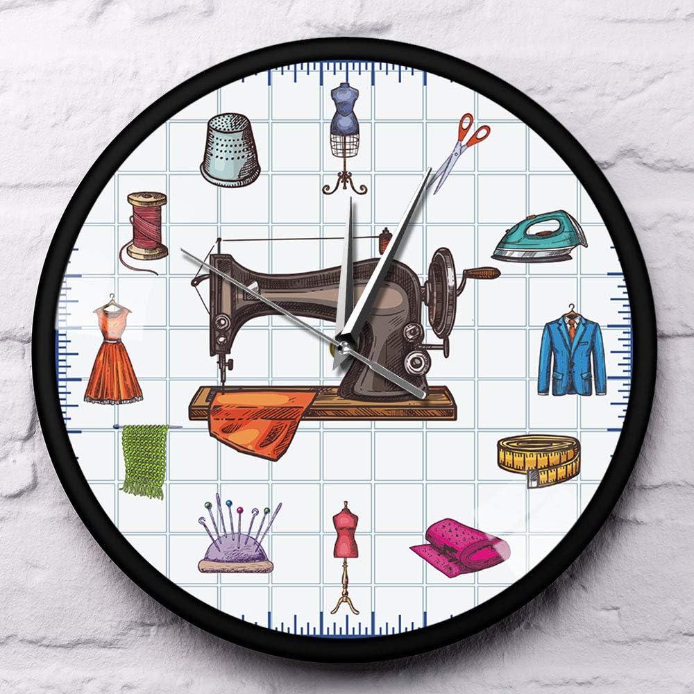 Reloj De Pared,Reloj De Pared Silencioso Moderno Tiempo De ...