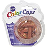 Wilton 415-2241 36 Count Bacon Baking Cups, Assorted